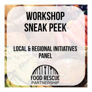 Sneak Peek: Food Rescue Workshop Panel